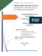 Grupo 5 - RSU y RSE en tiempos de pandemia-  caso Region Tacna covid 19