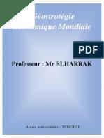La Géostratégie Economique Mondiale (1)