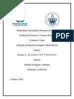 ENSAYO PAGO DE HONORARIOS