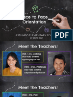 fab4th face to face orientation