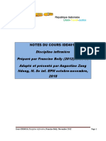 Synthèse Notes Cours