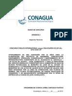 Acueducto El Zapotillo Apéndice 2 - Aspectos Técnicos