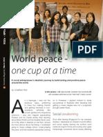 Cafe Diplo-Humaneity Magazine