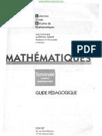 VLITE-CIAM - Mathématiques Terminale SM Guide Pédagogique[BIBLIO-SCIENCES.ORG].pdf