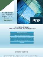 Memberships & Members Rights (1)