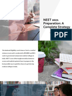 NEET 2021 Preparation- A Complete Strategy
