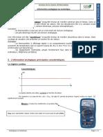 Cours - Caractérisation de l'information analogique et numérique