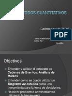 Clase 5IO Cadenas de Markov 150211