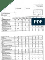 Raportul financiar al lui Octavian Țîcu (14–16 octombrie 2020)