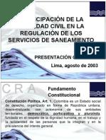 fundamentos legalesregulacion CRA
