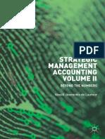 Strategic Management Accounting Volume II Beyond The Numbers Vassili Joannides de Lautour