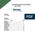 Amway Final