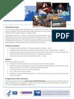CDC-Hubert Global Health Fellowship Flyer-1
