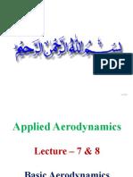 Lecture 7-8 - Basic Aerodynamics.pptx