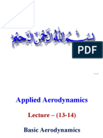 Lecture 13-14 - Basic Aerodynamics Wind Tunnels Measurement of Airspeed.pptx
