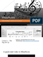 Musescore project Yr 10