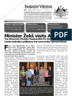 Australian Embassy Vienna Newsletter JAN 2011