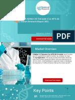 Global 5-Methyl-1H-Tetrazole (Cas 4076-36-2) Market Research Report 2021.pptx