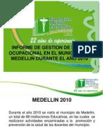 ESTADO SALUD DOCENTE MEDELLIN 2010
