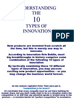 THE 10 TYPES OF INNOVATION