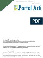 1.3 - Avaliação da Incerteza Padrão - Incerteza de Medição _ Portal Action