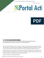 1.9 - Teste de Valor Extremo (Grubbs) - Incerteza de Medição _ Portal Action