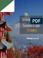 Environmental Impact Assessment in Japan