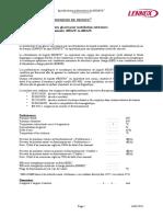 Descriptif technique Refroidisseur de 200 à 1000 kW NEOSYS (Froid seul)
