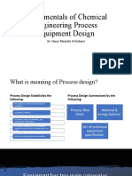 Fundamentals of Chemical Engineering Process Equipment Design.pptx