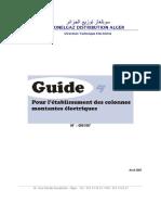 Guide pour l'établissement des CM électricité - avril 2007