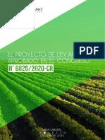 Primeros alcances de la nueva Ley Agraria
