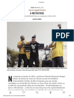 A metástase - Revista Piauí