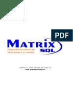 MatrixSQL Propuesta Facturacion Electrónica