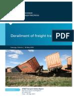 Derailment of freight train 9305