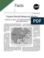 NASA Facts Tropical Rainfall Measuring Mission