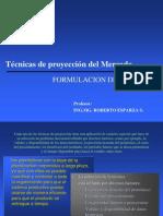 TECNICAS DE PROYECCIONES