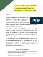 Annamalai Assignment 178 MBA E-Business (2020–2021) Call 9025810064