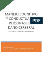 Manejo cognitivo y conductual de personas con daño cerebral