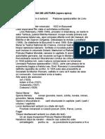 FISA DE LECTURA Padurea Spanzuratilor