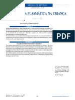Plasma hypertonicity