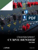Chandler Limited Curve Bender Manual