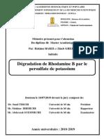 Dégradation de Rhodamine B par le.pdf