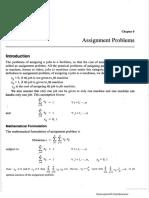 3. Assignment Problems LPP