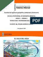 Unidad I Clase 2  Estructura y Propiedades del AGUA-Presentación.pdf