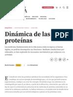 Dinámica de las proteínas _ Investigación y Ciencia _ Investigación y Ciencia