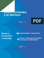 Novo confinamento - apoios à economia
