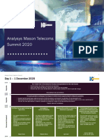 Analysys Mason Telecoms Summit 2020 Agenda