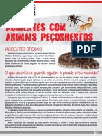 Alerta de Segurança - Animais Peçonhnetos