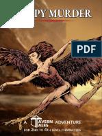 Alex of Tavern Tales - Vaskil Valley - Harpy Murder (3rd-Level)