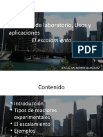 REACTORES DE LABORATORIO, USOS Y APLICACIONES